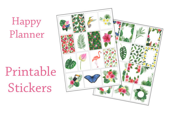 Download Free 581 Planner Designs Graphics for Cricut Explore, Silhouette and other cutting machines.