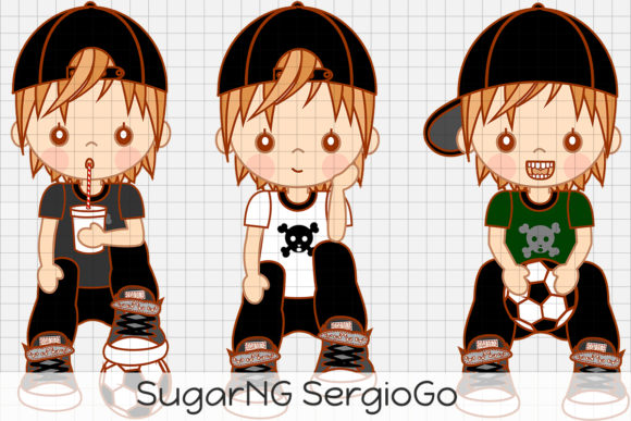 Download Free Sugarng Sergiogo Graphic By Dolls To Go Creative Fabrica for Cricut Explore, Silhouette and other cutting machines.