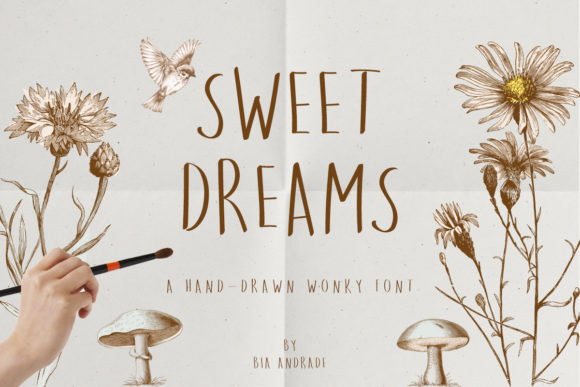 Print on Demand: Sweet Dreams Sans Serif Font By Just Bia - Image 1