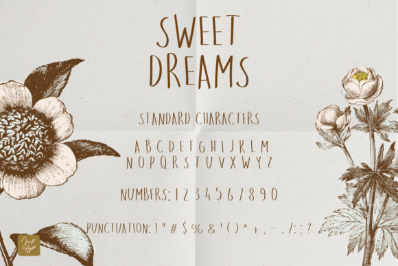 Print on Demand: Sweet Dreams Sans Serif Font By Just Bia - Image 2