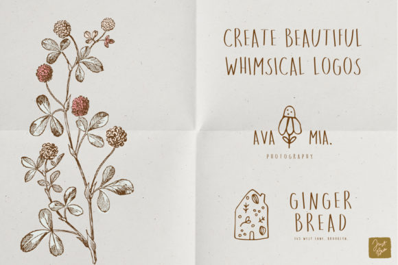 Print on Demand: Sweet Dreams Sans Serif Font By Just Bia - Image 5