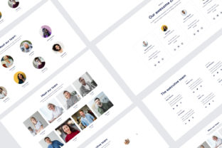 Team UI KIT Graphic UX and UI Kits By artgalaxy