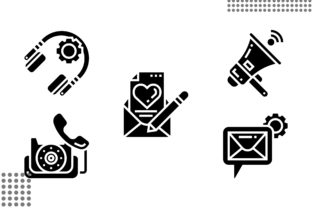 Telecommunications Fill Graphic Icons By cool.coolpkm3