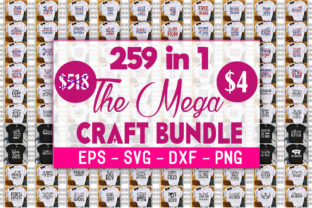 Print on Demand: The Mega Craft Bundle  By GraphicsBooth