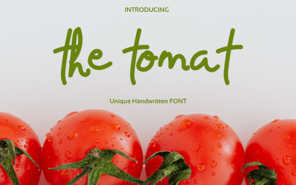The Tomat Font Free Download