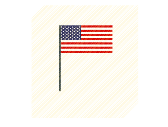 Download Free Usa American Flag Graphic Graphic By Svgplacedesign Creative for Cricut Explore, Silhouette and other cutting machines.