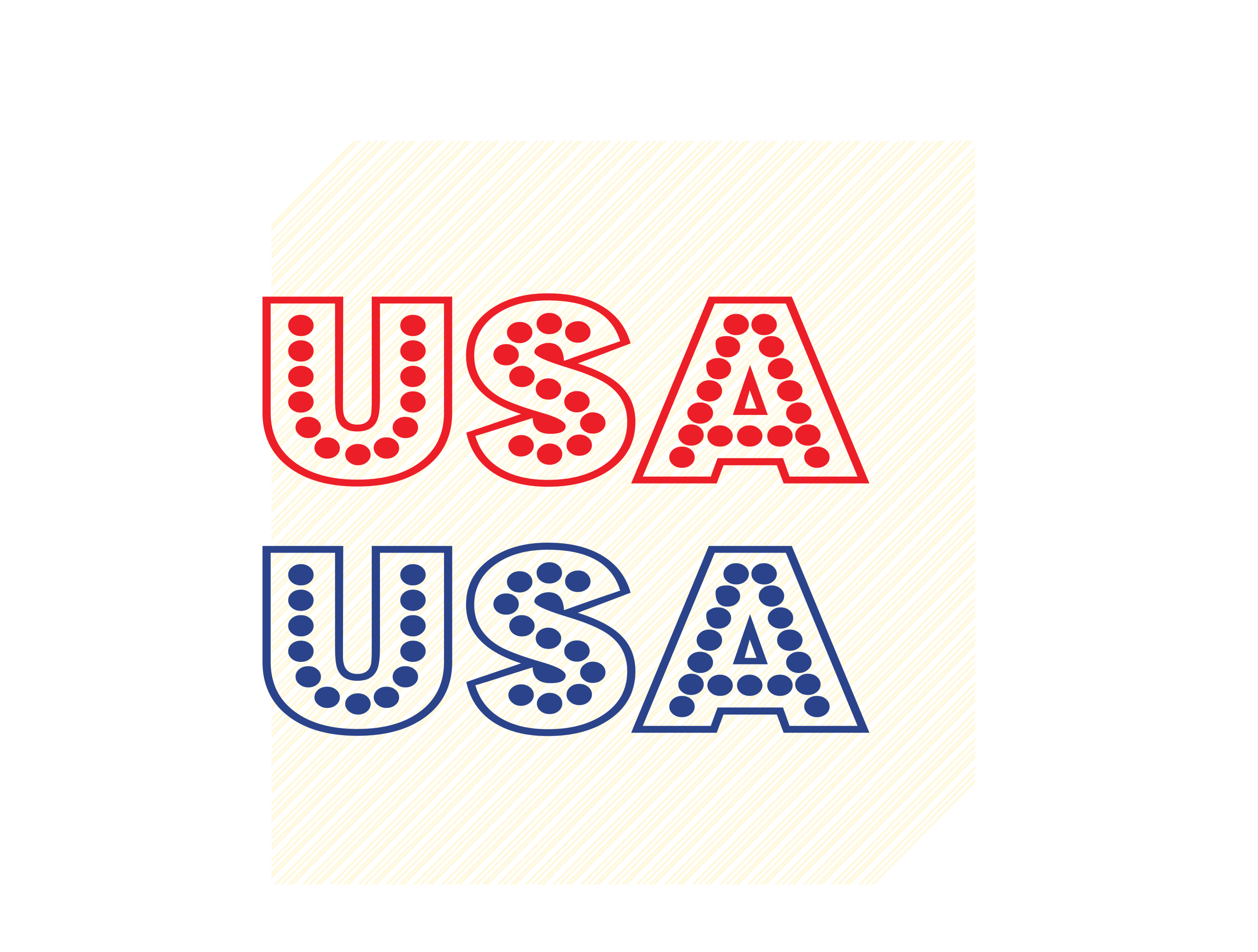 Download Free Usa Text Graphic Graphic By Svgplacedesign Creative Fabrica for Cricut Explore, Silhouette and other cutting machines.