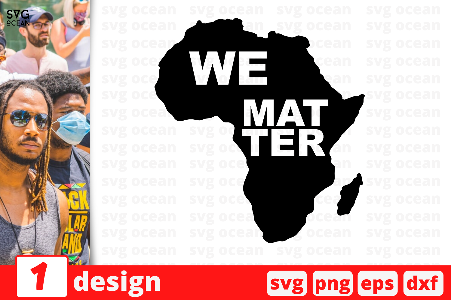 Download Free We Matter Graphic By Svgocean Creative Fabrica for Cricut Explore, Silhouette and other cutting machines.