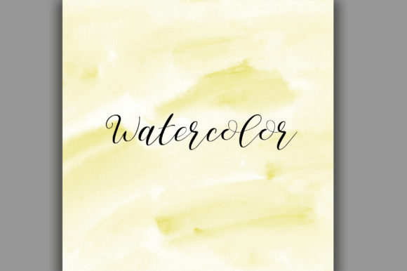 Download Free Yellow Ombre Watercolor Background Graphic By Pinkpearly for Cricut Explore, Silhouette and other cutting machines.