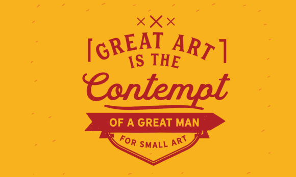 Download Free A Great Man For Small Art Graphic By Baraeiji Creative Fabrica for Cricut Explore, Silhouette and other cutting machines.