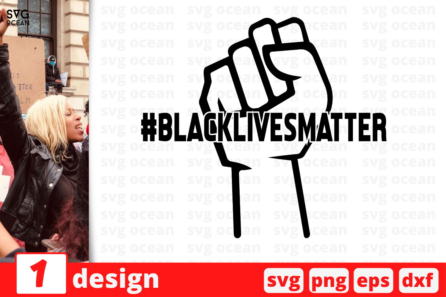 Download Free Blacklivesmatter Graphic By Svgocean Creative Fabrica for Cricut Explore, Silhouette and other cutting machines.