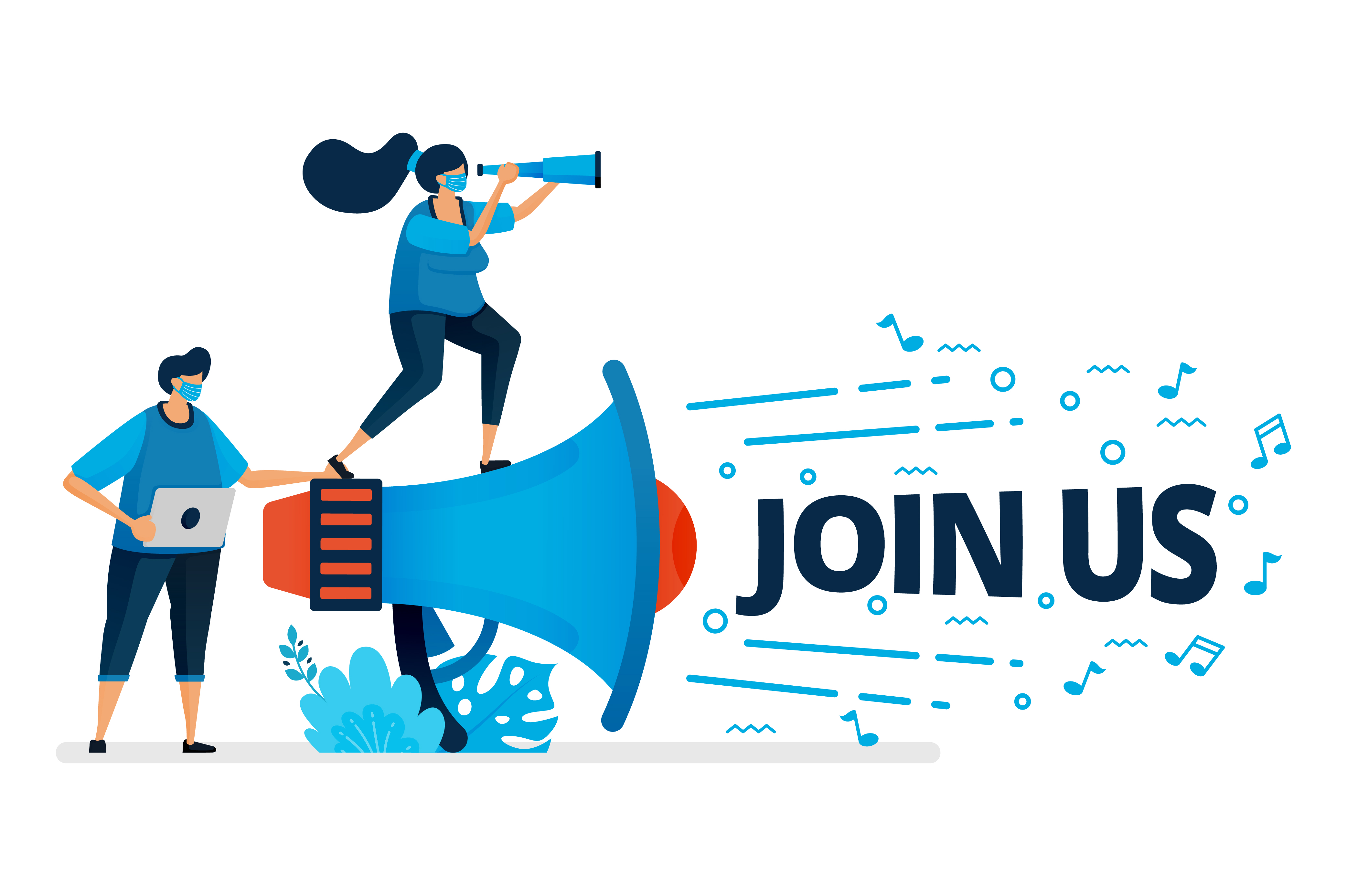 Download Free Join Us Program For Employee Recruitment Graphic By SVG Cut Files