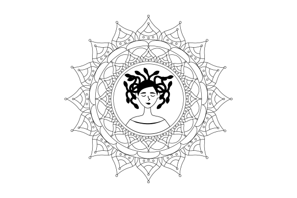 Download Free Medusa Svg Cut File By Creative Fabrica Crafts Creative Fabrica for Cricut Explore, Silhouette and other cutting machines.