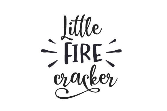 Little Fire Cracker Independence Day Craft Cut File By Creative Fabrica Crafts