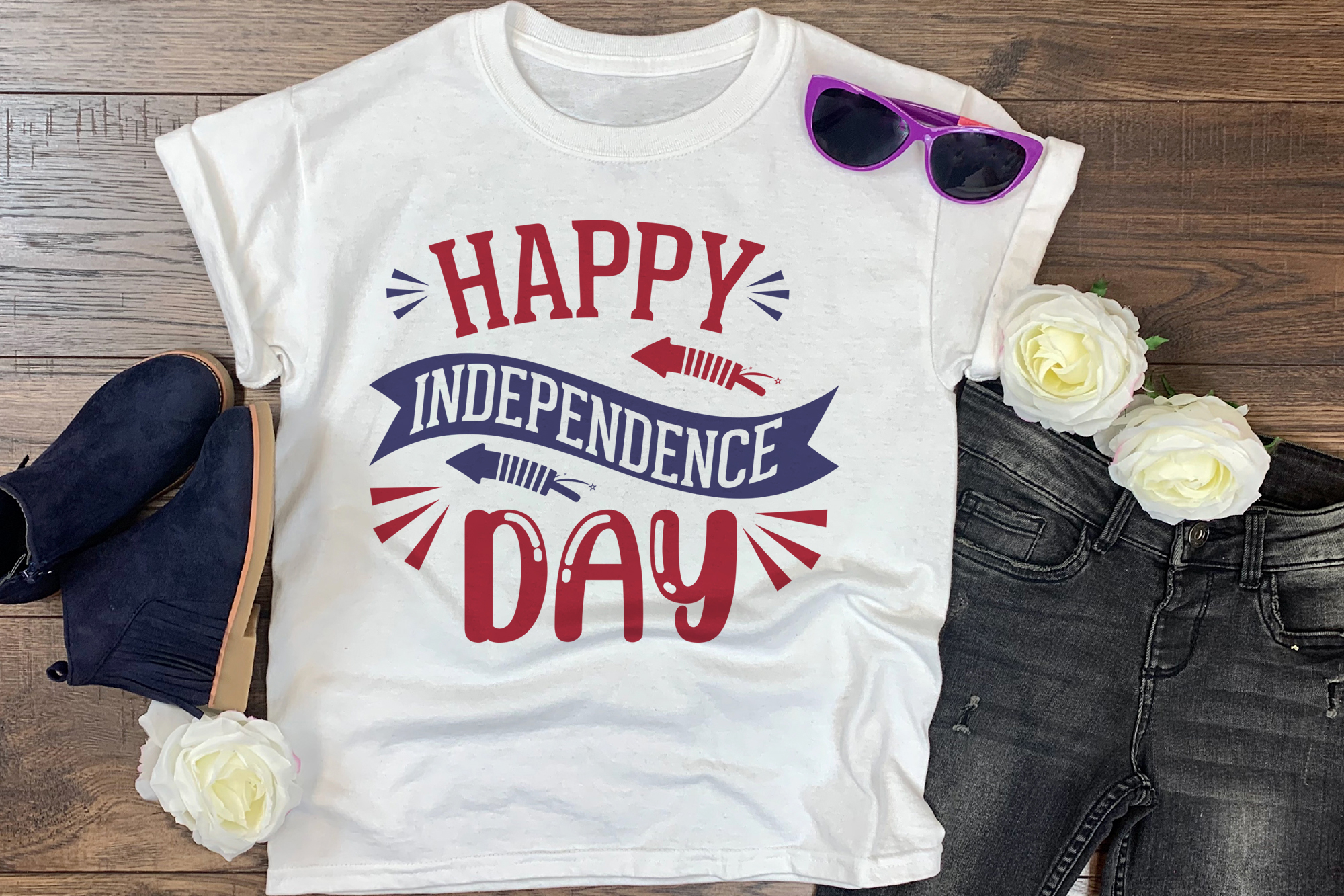 4th Of July Happy Independence Day Graphic By Craftlabsvg