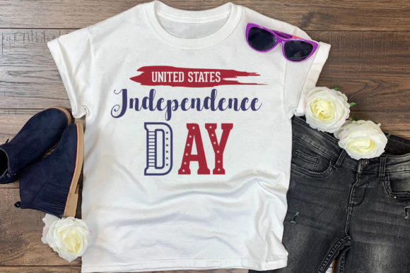 4th of July USA Independence Day Graphic Crafts By CraftlabSVG