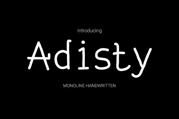 Adisty Font Free Download