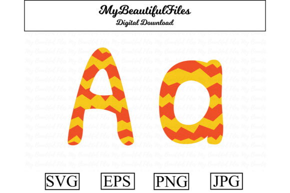 Alphabet Abc Letter A Graphic By Mybeautifulfiles Creative