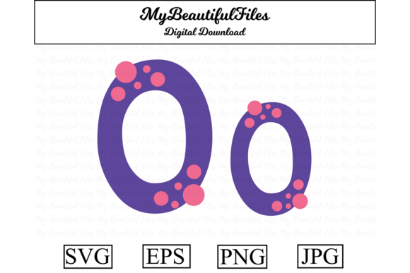 Download Free Alphabet Abc Letter O Graphic By Mybeautifulfiles Creative for Cricut Explore, Silhouette and other cutting machines.