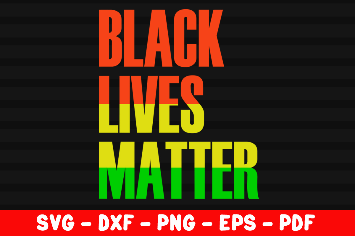 Download Free Blm Distressed Black Lives Matter Graphic By Creativeshohor for Cricut Explore, Silhouette and other cutting machines.