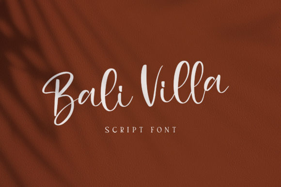 Download Free Bali Villa Font By Alit Design Creative Fabrica for Cricut Explore, Silhouette and other cutting machines.
