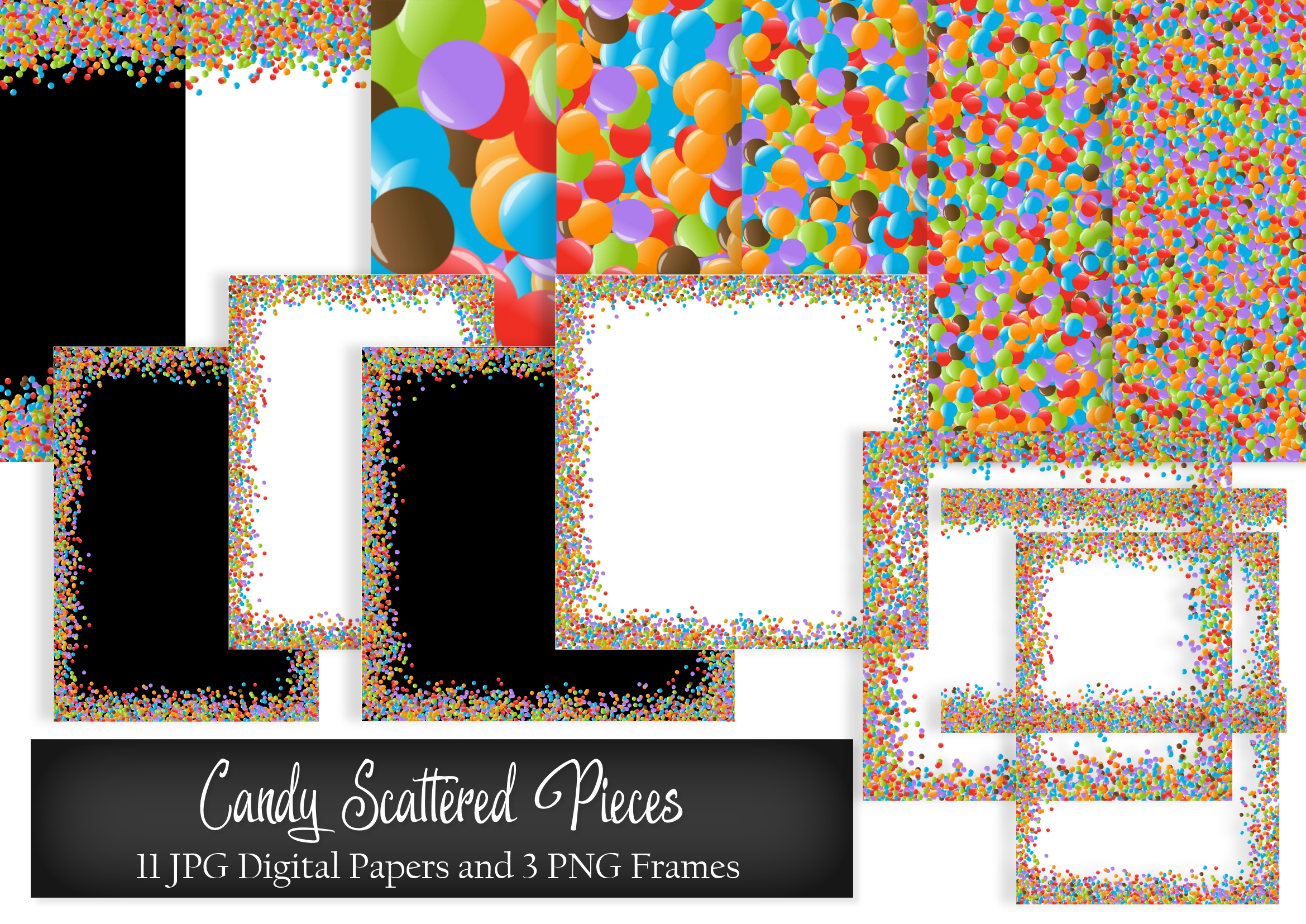 Download Free Candy Scattered Pieces Digital Paper Graphic By Simply Paper for Cricut Explore, Silhouette and other cutting machines.