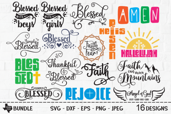 Download Free Christian Super Bundle Graphic By Texassoutherncuts Creative for Cricut Explore, Silhouette and other cutting machines.