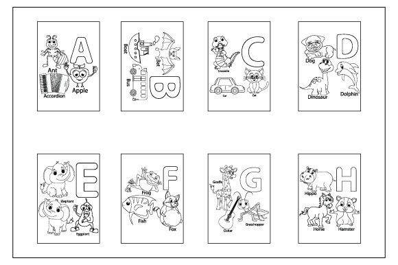 Print on Demand: Coloring Pages for Children Graphic Coloring Pages & Books By curutdesign