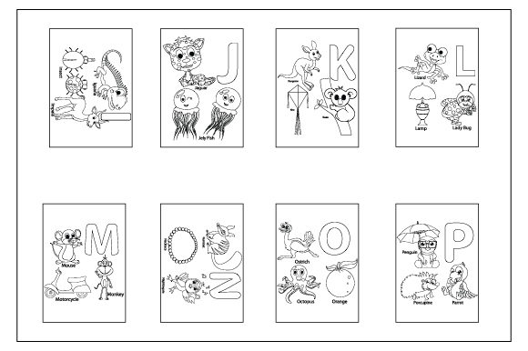Download Free Coloring Pages For Children Graphic By Curutdesign Creative for Cricut Explore, Silhouette and other cutting machines.