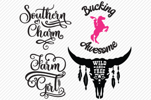 Download Free Country Super Bundle Country Designs Graphic By for Cricut Explore, Silhouette and other cutting machines.