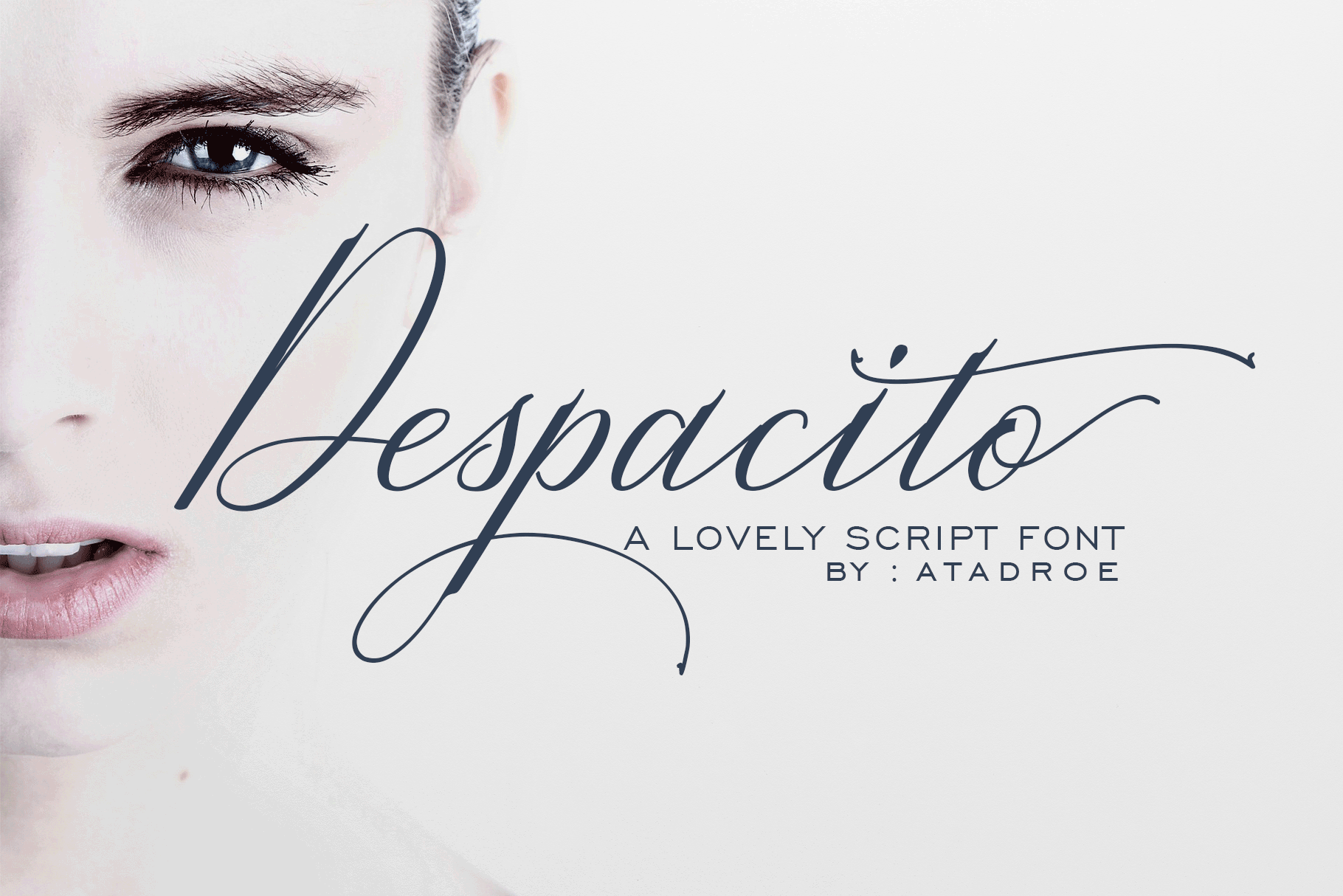 Download Free Despacito Font By Rt Creative Creative Fabrica SVG Cut Files