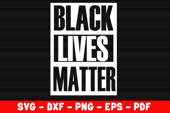 Download Free Distressed Black Lives Matter Graphic By Creativeshohor for Cricut Explore, Silhouette and other cutting machines.