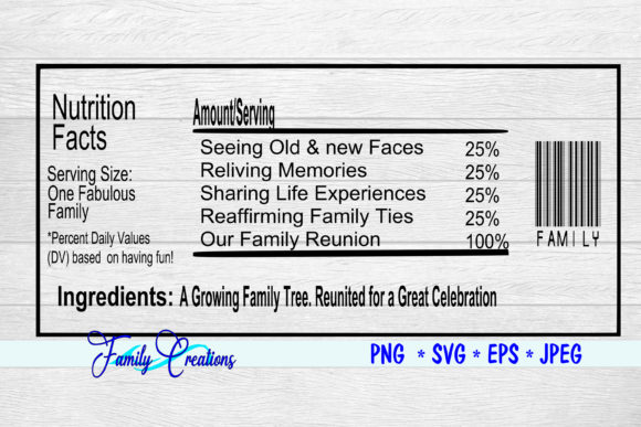 Download Free Family Reunion Gatherings Graphic By Family Creations for Cricut Explore, Silhouette and other cutting machines.