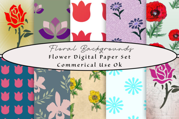 Download Free 2 Flower Textures Designs Graphics SVG Cut Files