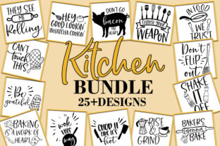 Print on Demand: Funny Kitchen Bundle   Graphic Crafts By freelingdesignhouse
