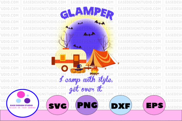 Download Free 1 Go Camping Svg Designs Graphics SVG Cut Files