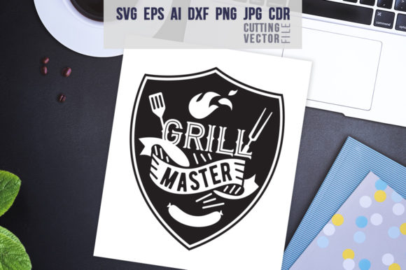 Download Free Grill Master Quote Graphic By Danieladoychinovashop Creative for Cricut Explore, Silhouette and other cutting machines.
