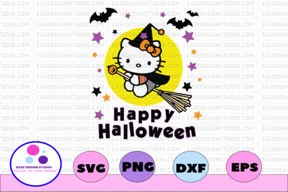 Download Free Happy Halloween Svg Dxf Eps Png Graphic By Printvectors for Cricut Explore, Silhouette and other cutting machines.