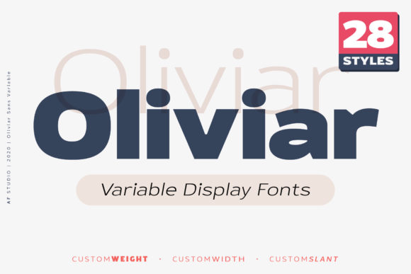 Print on Demand: Oliviar Display Font By Adam Fathony
