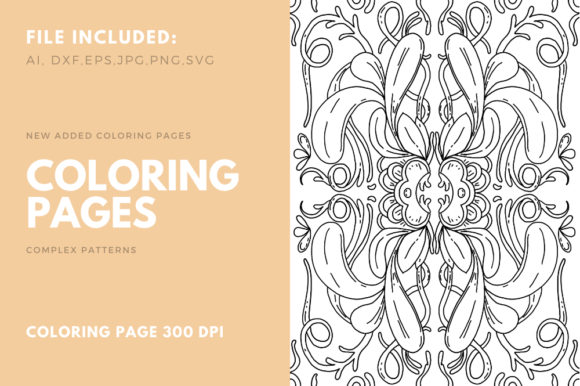 Download Free Plant Coloring Book For Kdp Graphic By Stanosh Creative Fabrica for Cricut Explore, Silhouette and other cutting machines.
