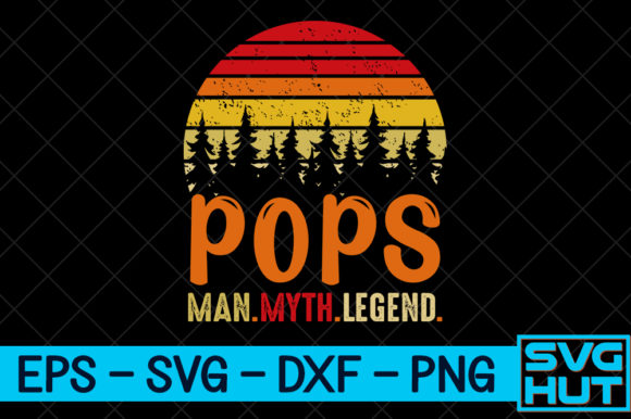 Download Free Pops Man Myth Legend Craft Design Graphic By Svg Hut for Cricut Explore, Silhouette and other cutting machines.