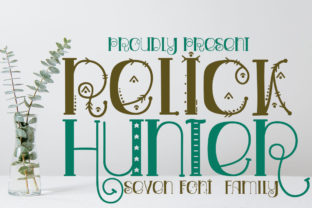 Print on Demand: Relick Hunter Display Font By edwar.sp111 1