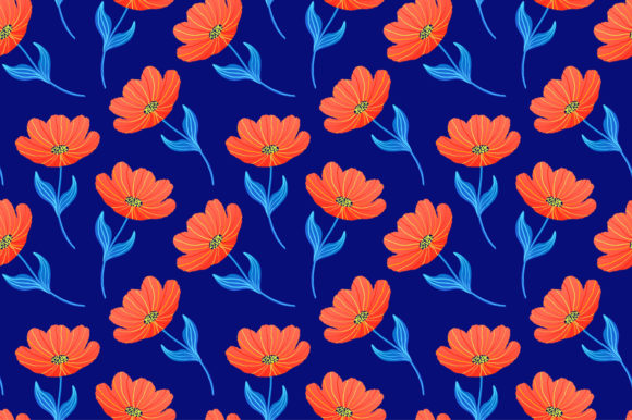 Download Free Spring Tulips Surface Patterns Graphic By Fatamorganaoptic for Cricut Explore, Silhouette and other cutting machines.