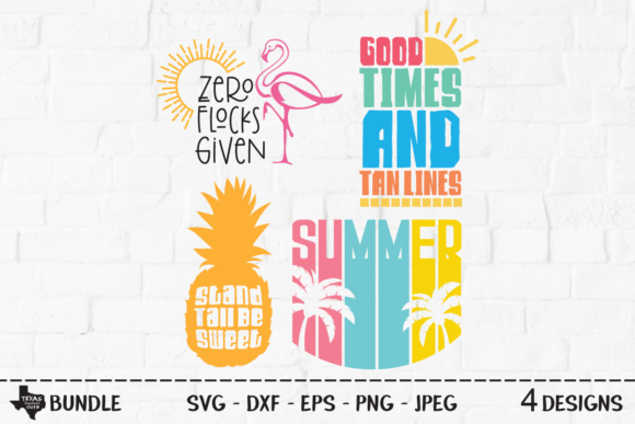 Print on Demand: Summer Bundle - Summer Shirt Designs Graphic Crafts By texassoutherncuts