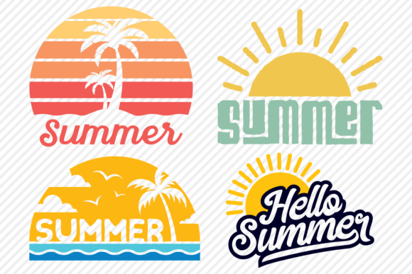 Print on Demand: Summer Super Bundle - Summer Designs Graphic Crafts By texassoutherncuts - Image 2