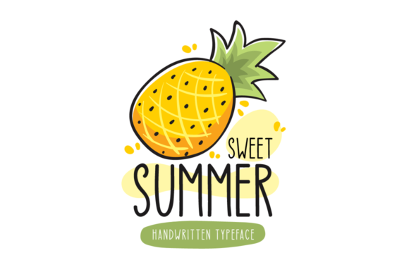 Print on Demand: Sweet Summer Script & Handwritten Font By Seemly Fonts
