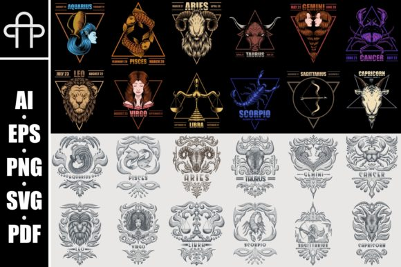 Print on Demand: The Zodiac Bundle  By Andypp