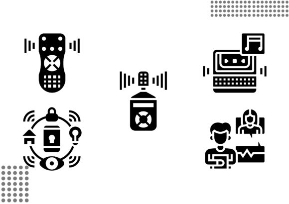 Download Free Voice Recognition Fill Graphic By Cool Coolpkm3 Creative Fabrica for Cricut Explore, Silhouette and other cutting machines.
