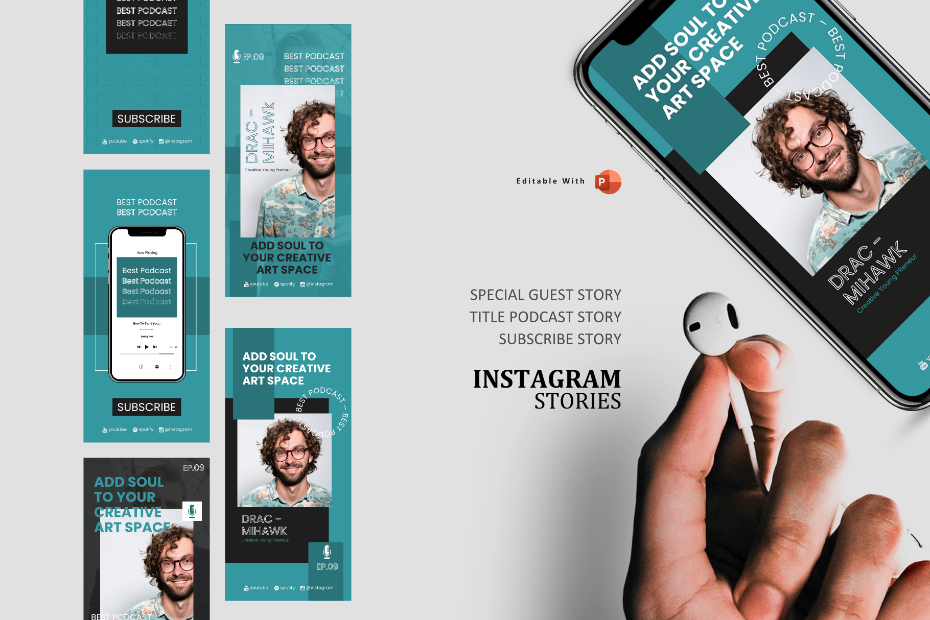 Download Free Young Podcast Ig Stories Post Graphic By Rivatxfz Creative for Cricut Explore, Silhouette and other cutting machines.