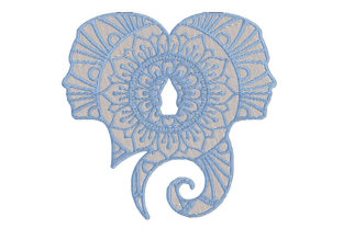 Print on Demand: Zodiac Sign Gemini Embroidery Design. Religion & Faith Embroidery Design By Embroidery Shelter